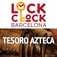 room escape lock clock barcelona tesoro azteca