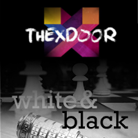 TheXdoorWhiteBlackLogo
