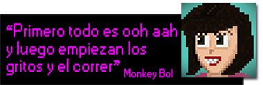 Citas Monkey Bol jurassic land
